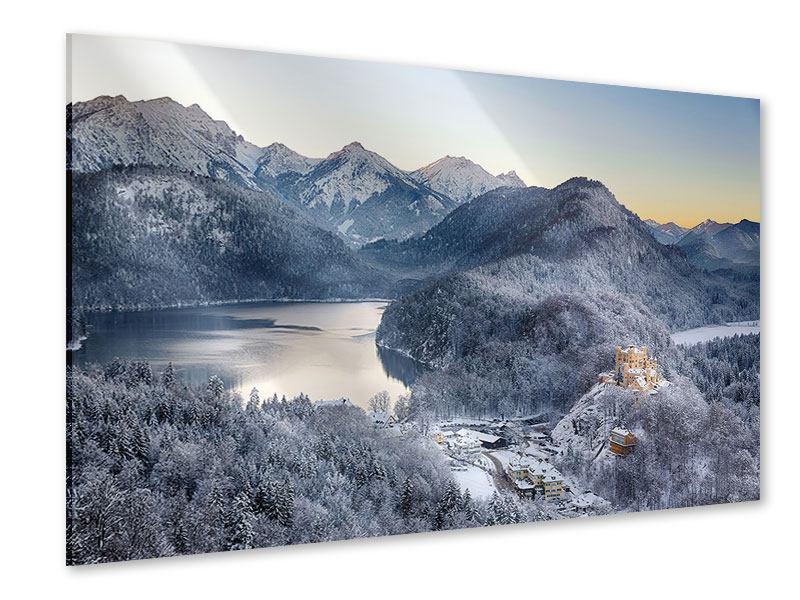Acrylglasbild Schloss Neuschwanstein im Ammergebierge