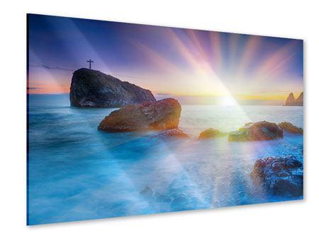 Acrylglasbild Mystisches Meer