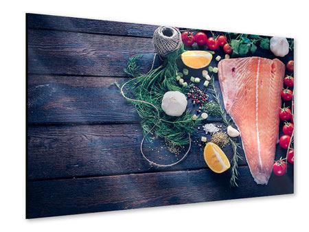 Acrylglasbild Fangfrischer Fisch