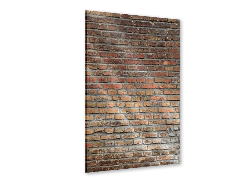 Acrylglasbild Ziegelmauer