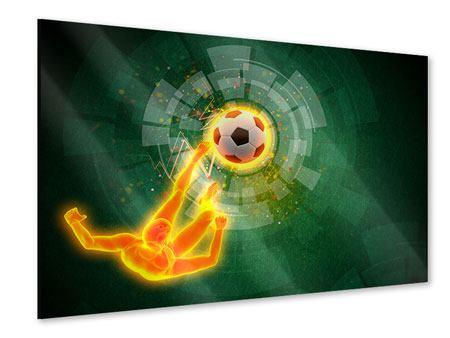 Acrylglasbild Der Kicker