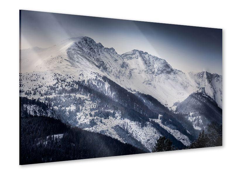 Acrylglasbild Die Berge der Schweiz