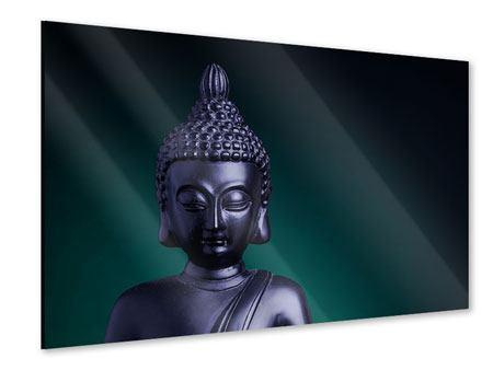 Acrylglasbild Die Weisheit des Buddhas
