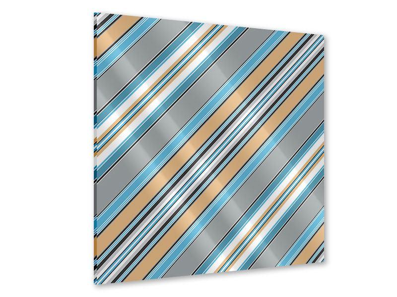 Acrylglasbild Farbstreifen