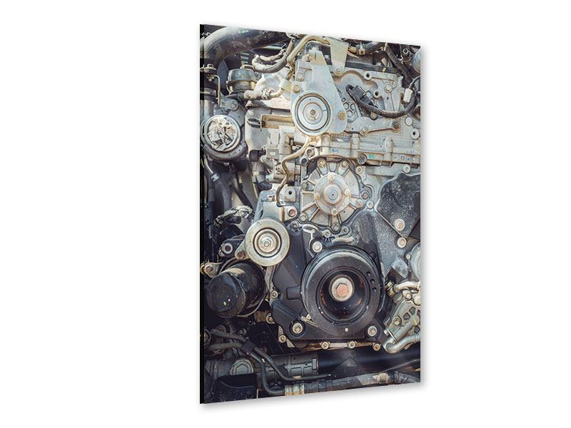 Acrylglasbild Motor