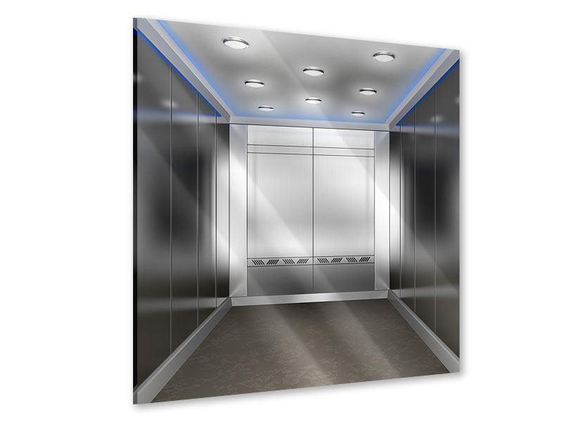Acrylglasbild Eleganter Aufzug