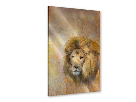 Acrylglasbild König der Löwen