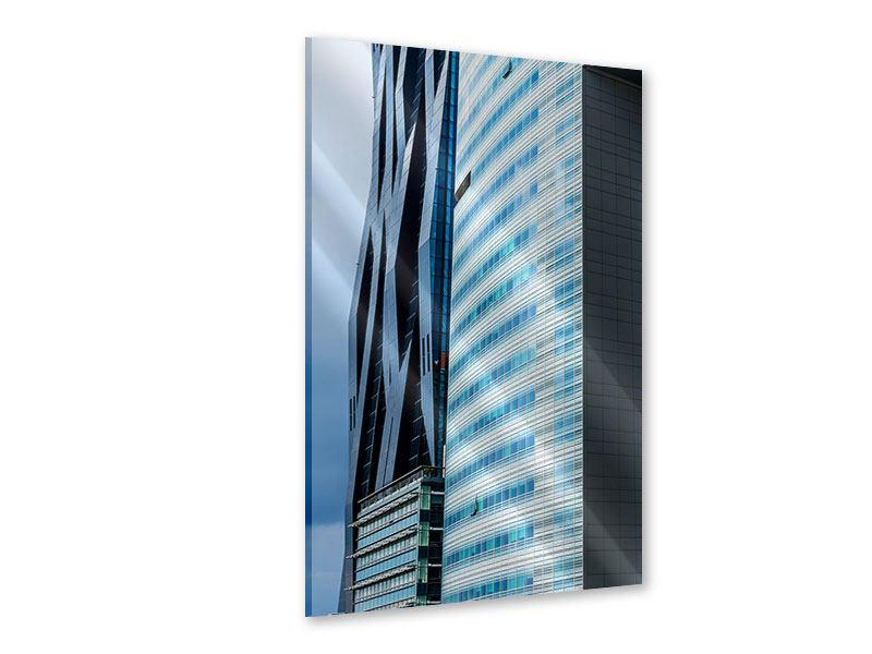 Acrylglasbild Wolkenkratzer