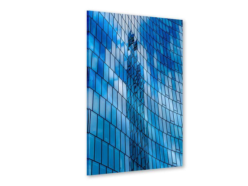 Acrylglasbild Glashaus