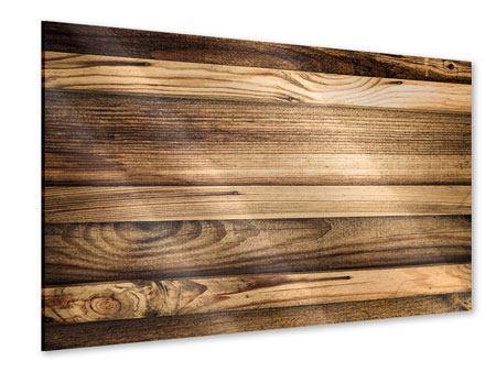 Acrylglasbild Holztrend