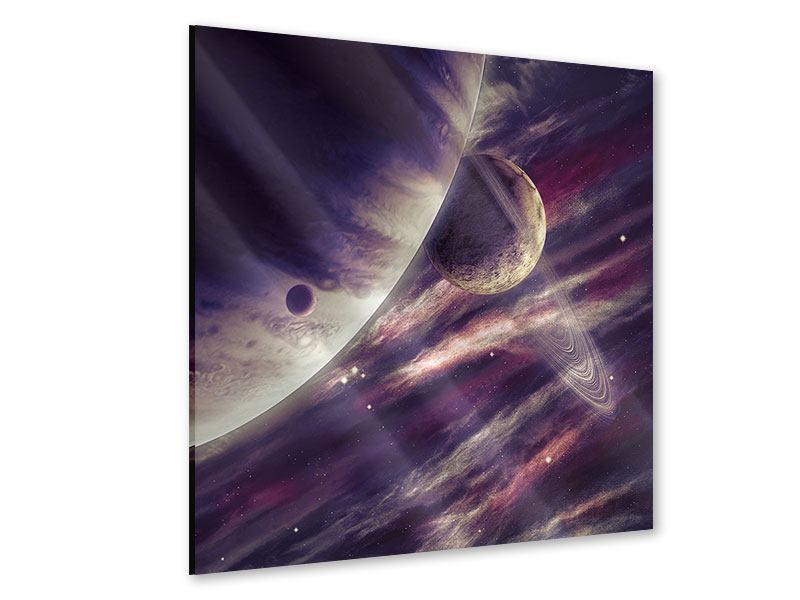 Acrylglasbild Weltraumreise