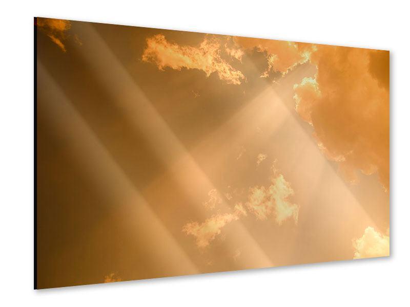 Acrylglasbild Abendhimmel