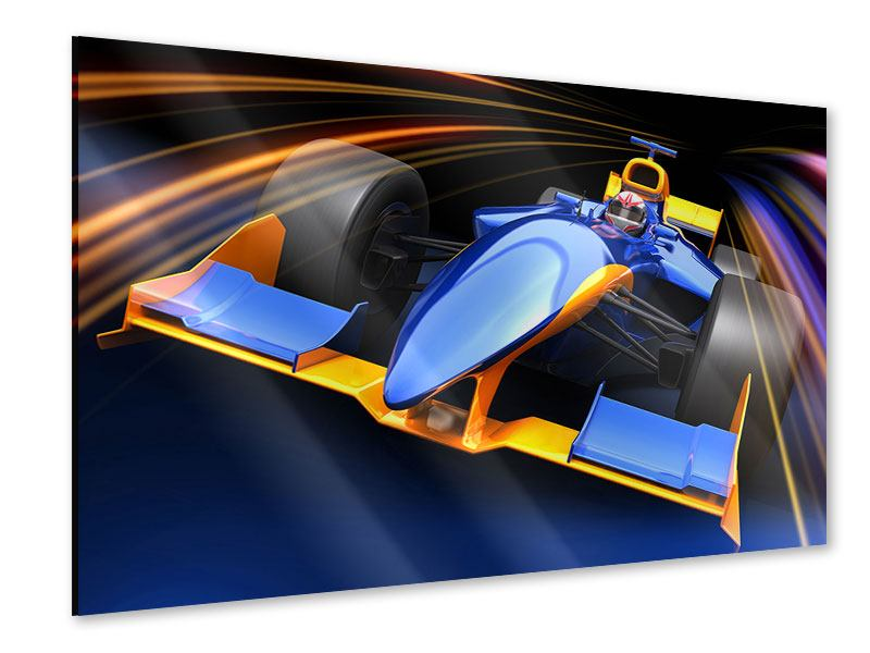 Acrylglasbild Autorennen