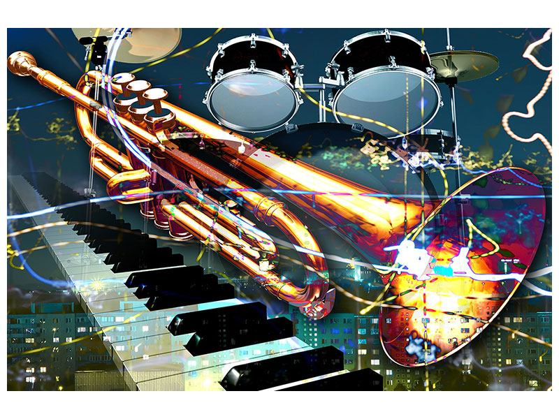 Acrylglasbild Let The Music Play