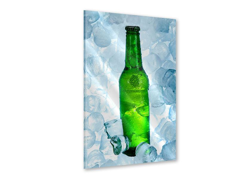 Acrylglasbild Eisgekühltes Bier
