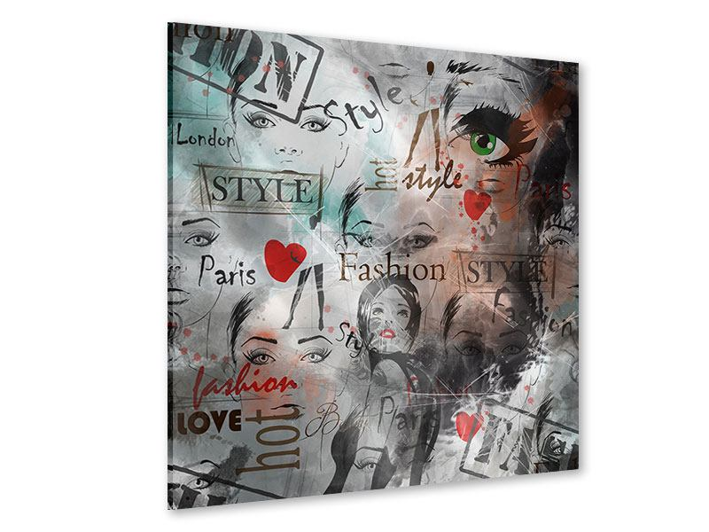 Acrylglasbild I Love Paris