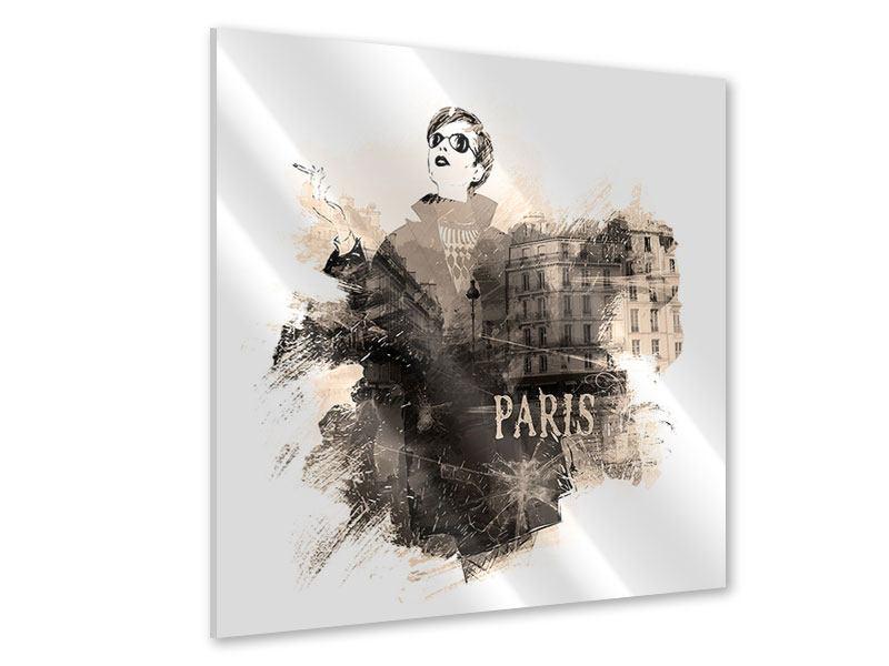 Acrylglasbild Pariser Modell