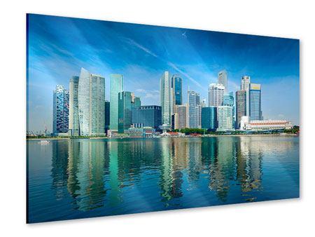 Acrylglasbild Skyline Mexiko-Stadt