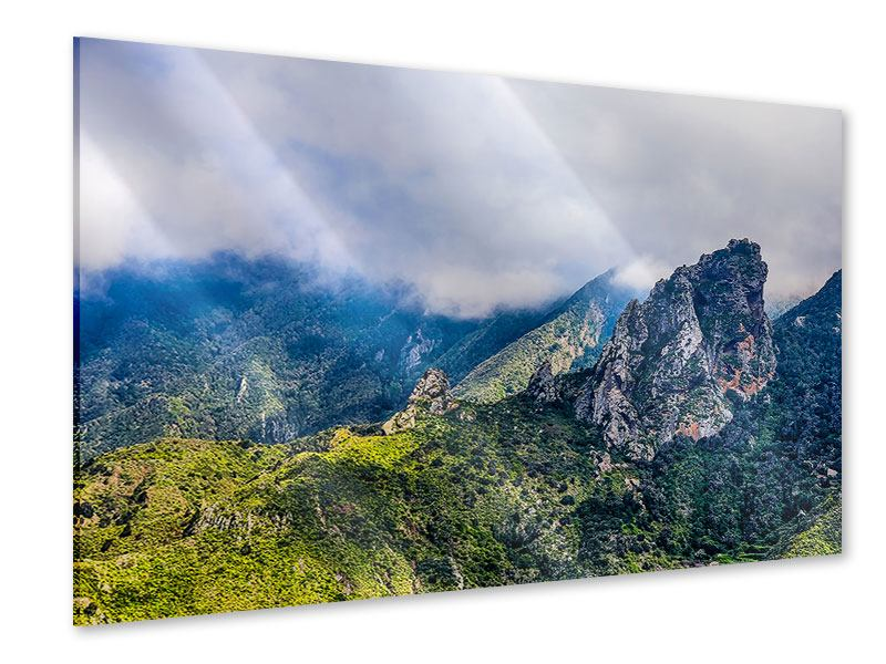 Acrylglasbild Der stille Berg