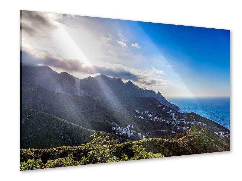 Acrylglasbild Der Frühling in den Bergen