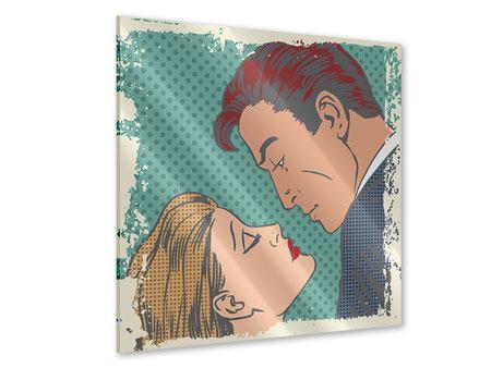 Acrylglasbild Pop Art Liebe