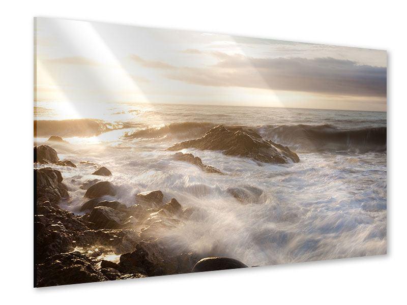 Acrylglasbild Meeresbrandung