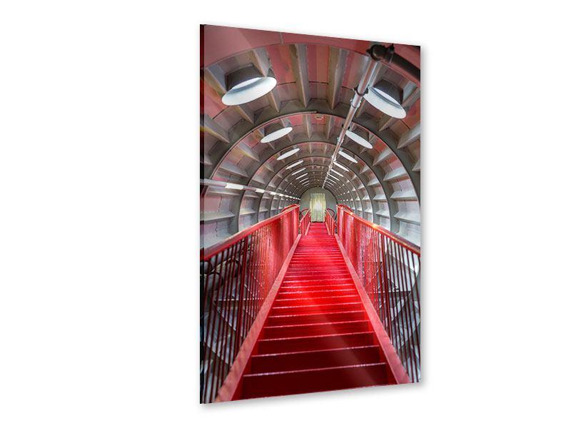Acrylglasbild Futuristische Treppe