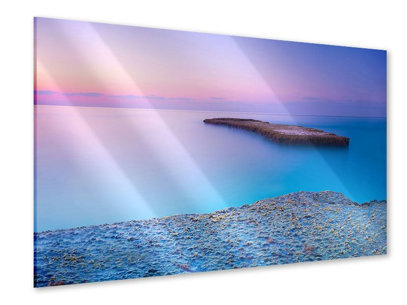 Acrylglasbild Unendlicher Ozean