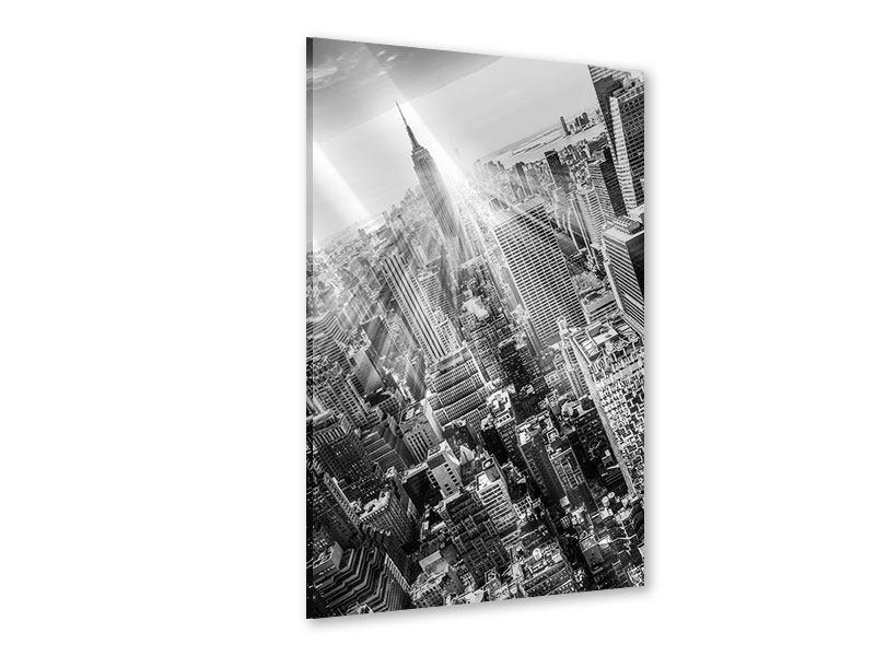 Acrylglasbild Wolkenkratzer New York