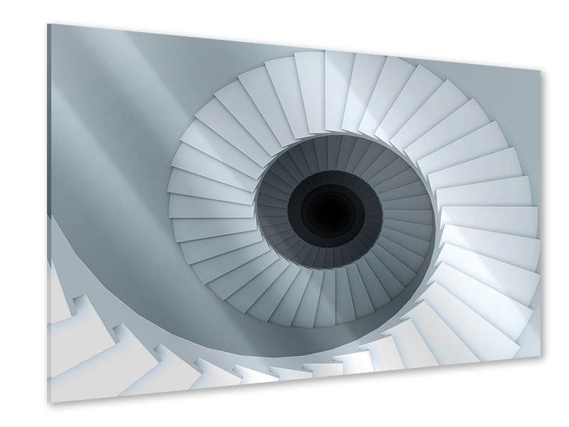 Acrylglasbild 3D Wendeltreppe