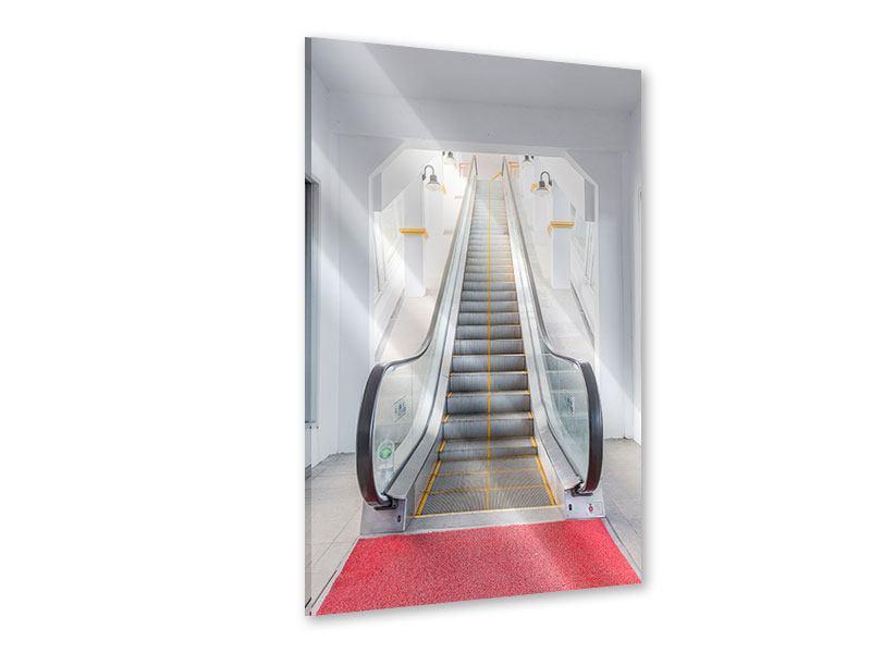 Acrylglasbild Rolltreppe