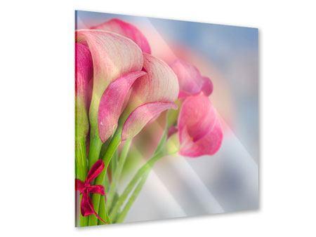 Acrylglasbild Der Lilienstrauss