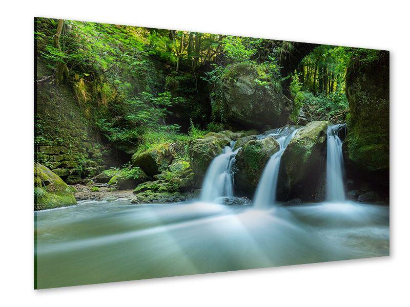 Acrylglasbild Fallendes Wasser