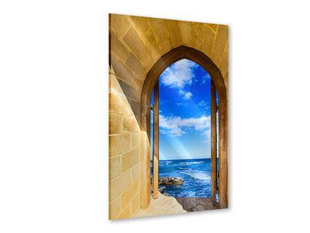 Acrylglasbild Das Tor zum Meer