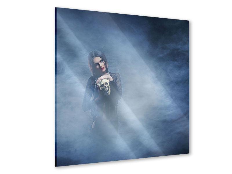 Acrylglasbild Das Geheimnis des Skulls