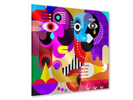 Acrylglasbild Moderne Kunst People