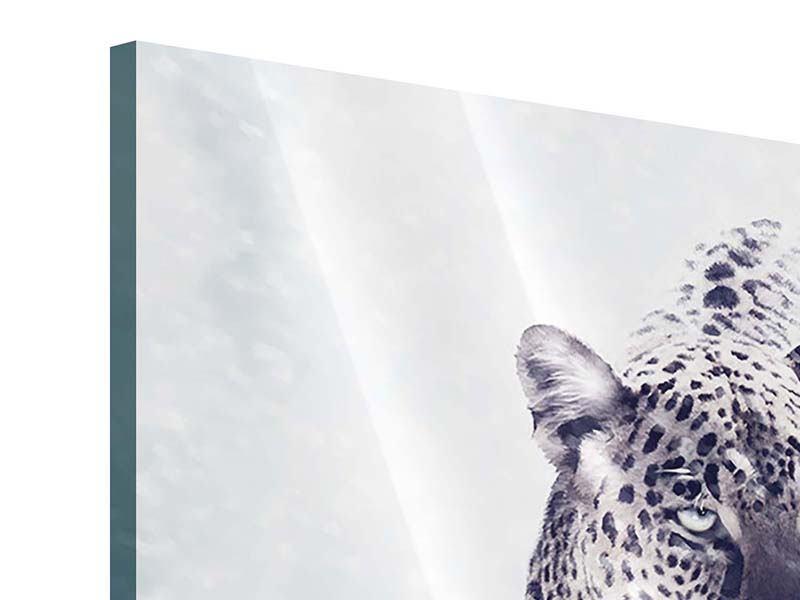 Acrylglasbild Der Leopard