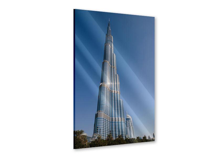 Acrylglasbild Wolkenkratzer Dubai