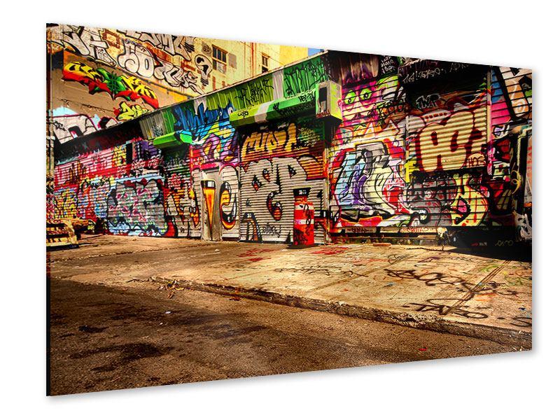 Acrylglasbild NY Graffiti