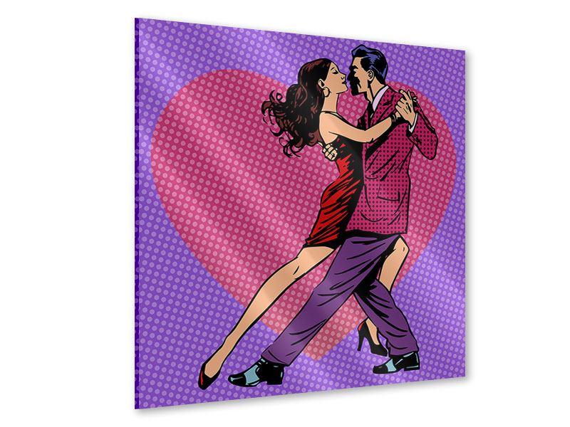 Acrylglasbild Pop Art Lambada