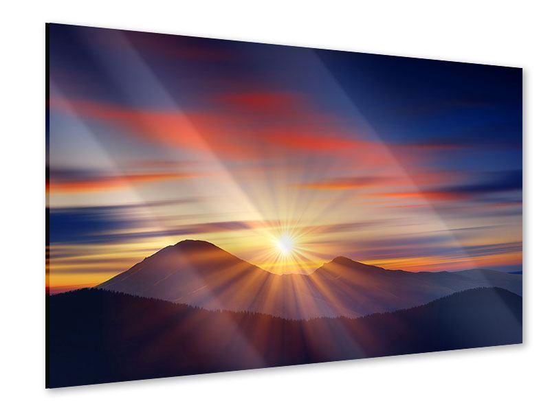 Acrylglasbild Märchenhafte Landschaft