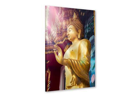Acrylglasbild Buddha Skulptur