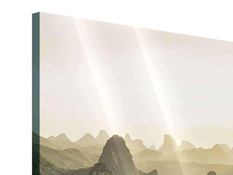 Acrylglasbild Die Berge von Xingping