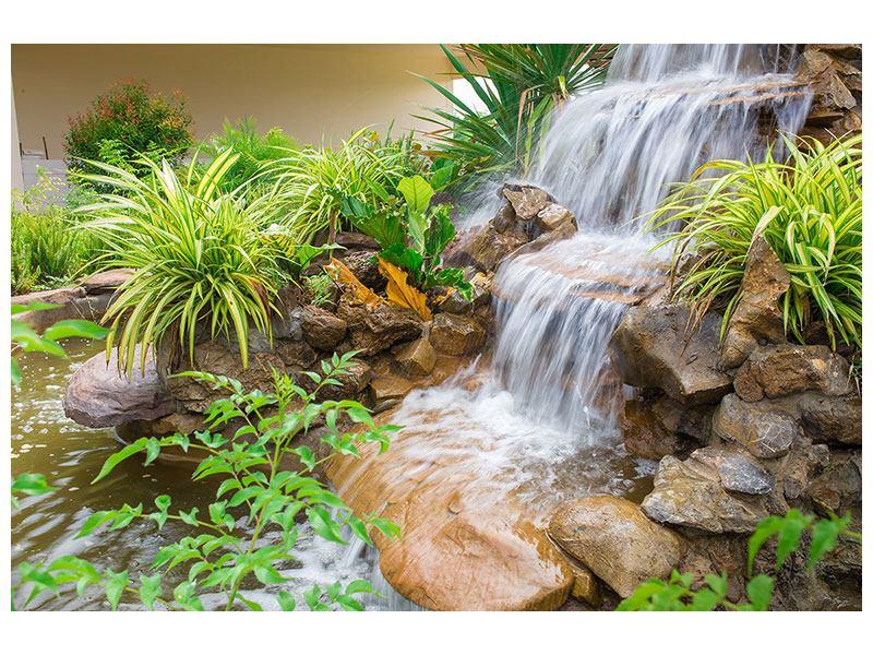 Acrylglasbild Paradiesgarten