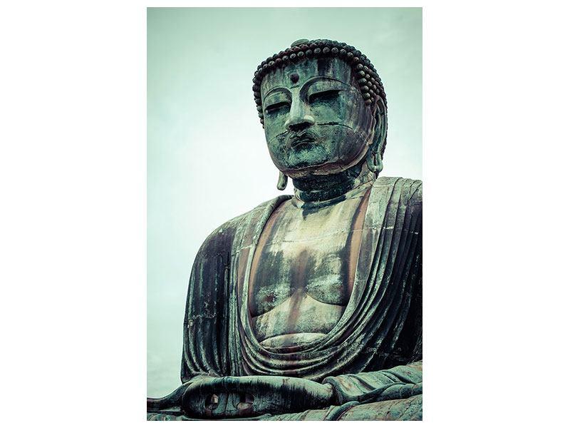 Acrylglasbild Meditierender Buddha