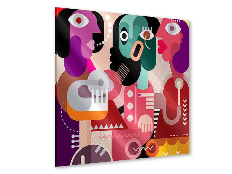 Acrylglasbild Moderne Kunst Frauen