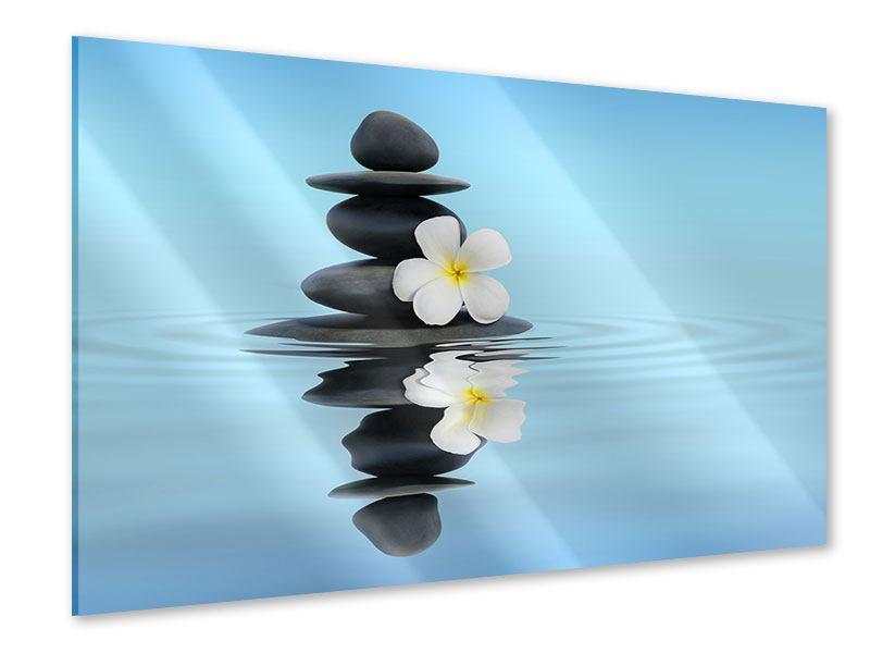 Acrylglasbild Zen Steine