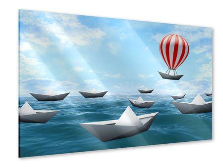 Acrylglasbild Schiffchen