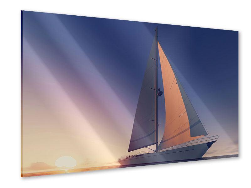 Acrylglasbild Das Segelschiff