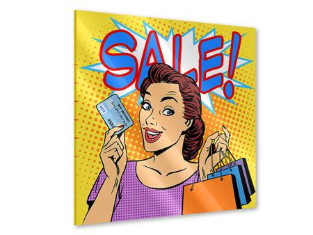 Acrylglasbild Pop Art Sale